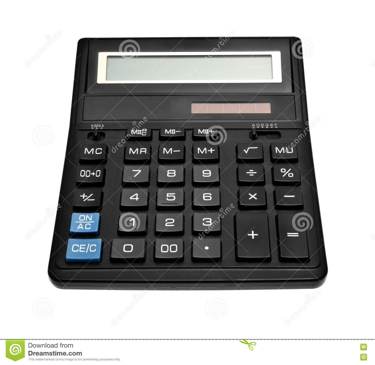 Black Office Calculator Royalty Free Stock Images Image