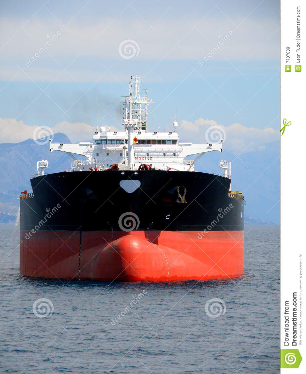 Black Oil Tanker Royalty Free Stock Photos Image 7707838