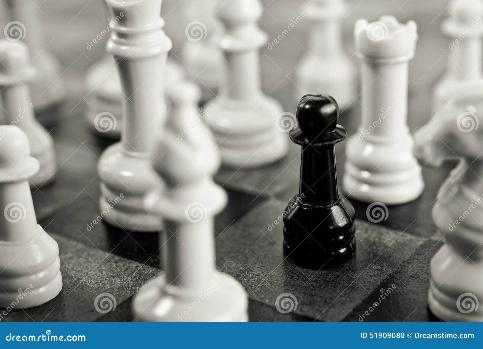 Black Pawn Trapped