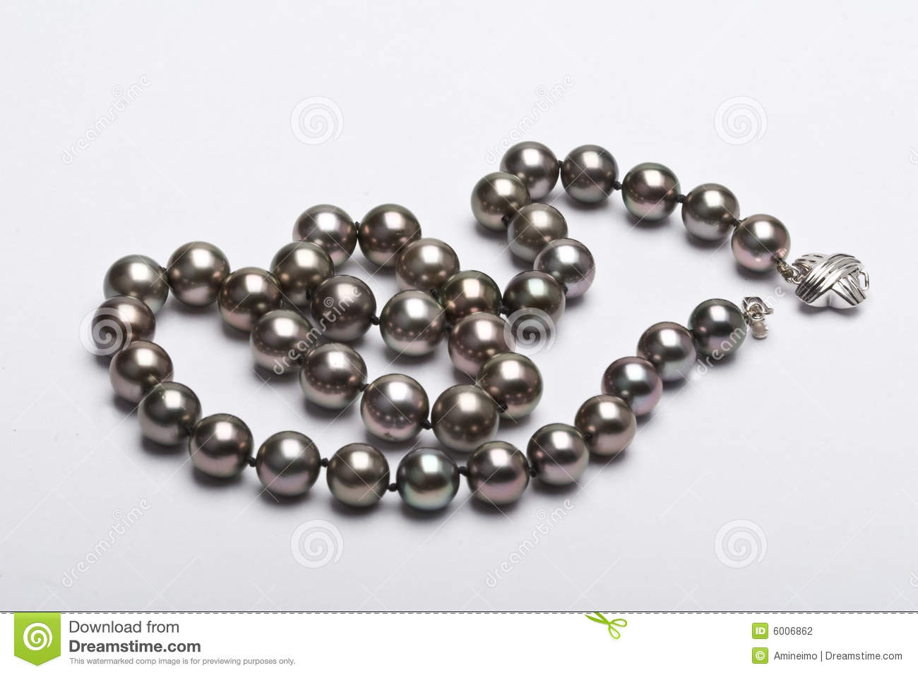 Black Pearl Stock Photography - Image: 6006862