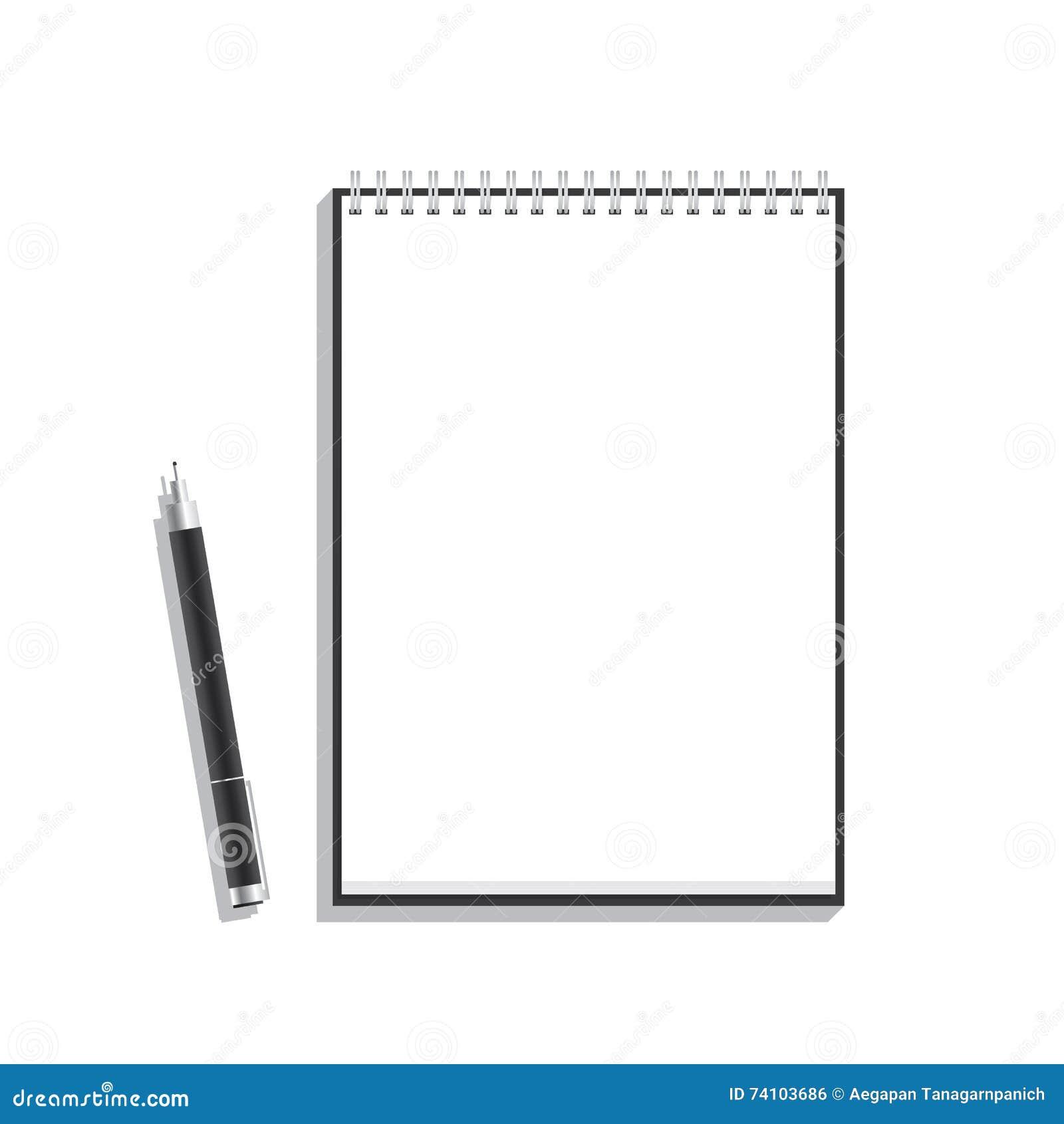 Pen Book Vector