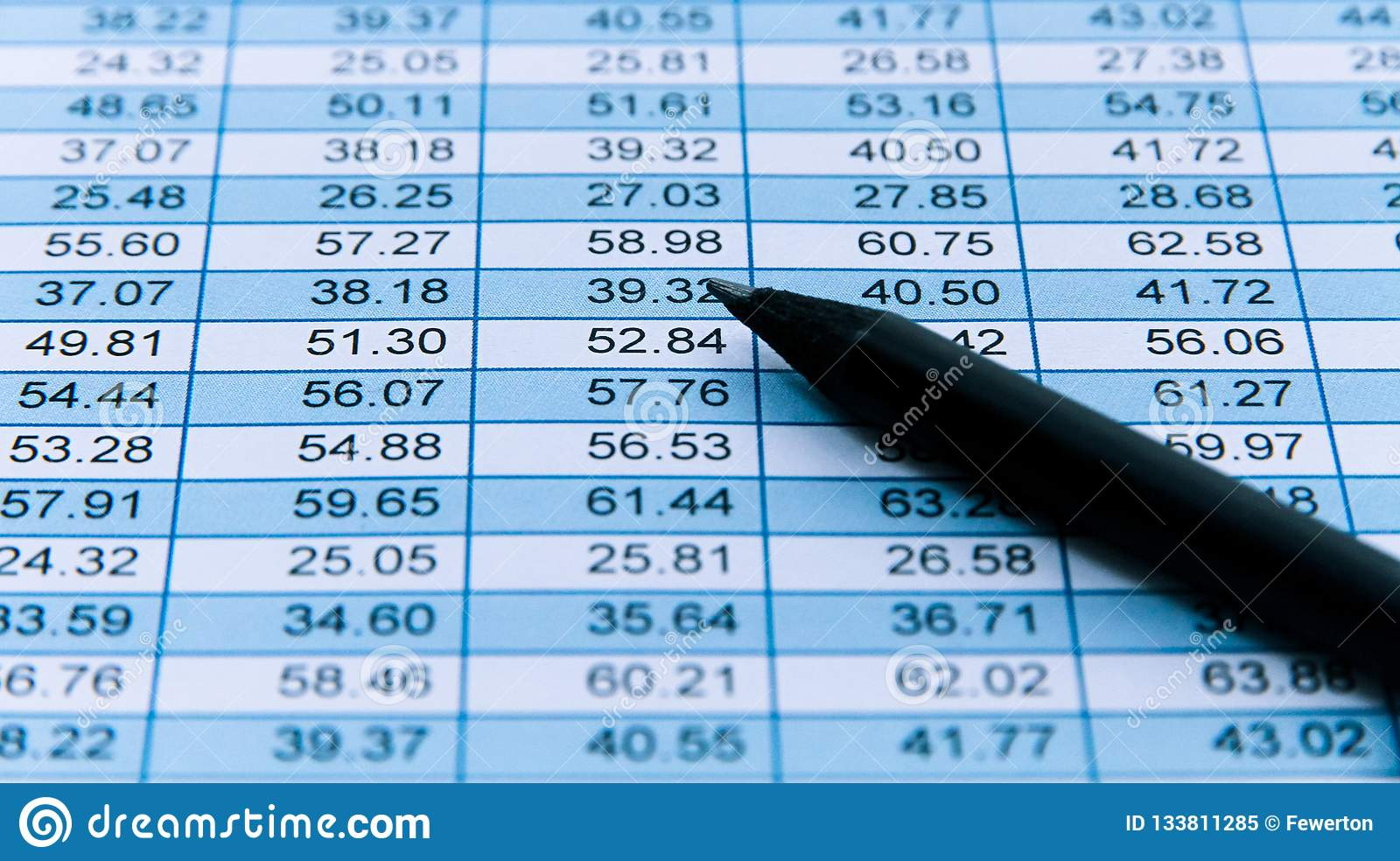 Pleasing Black Pencil Macro Over A Financial Spreadsheet Numerical Download Free Architecture Designs Scobabritishbridgeorg