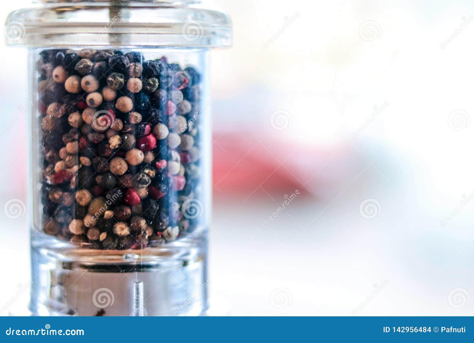 Black pepper shaker