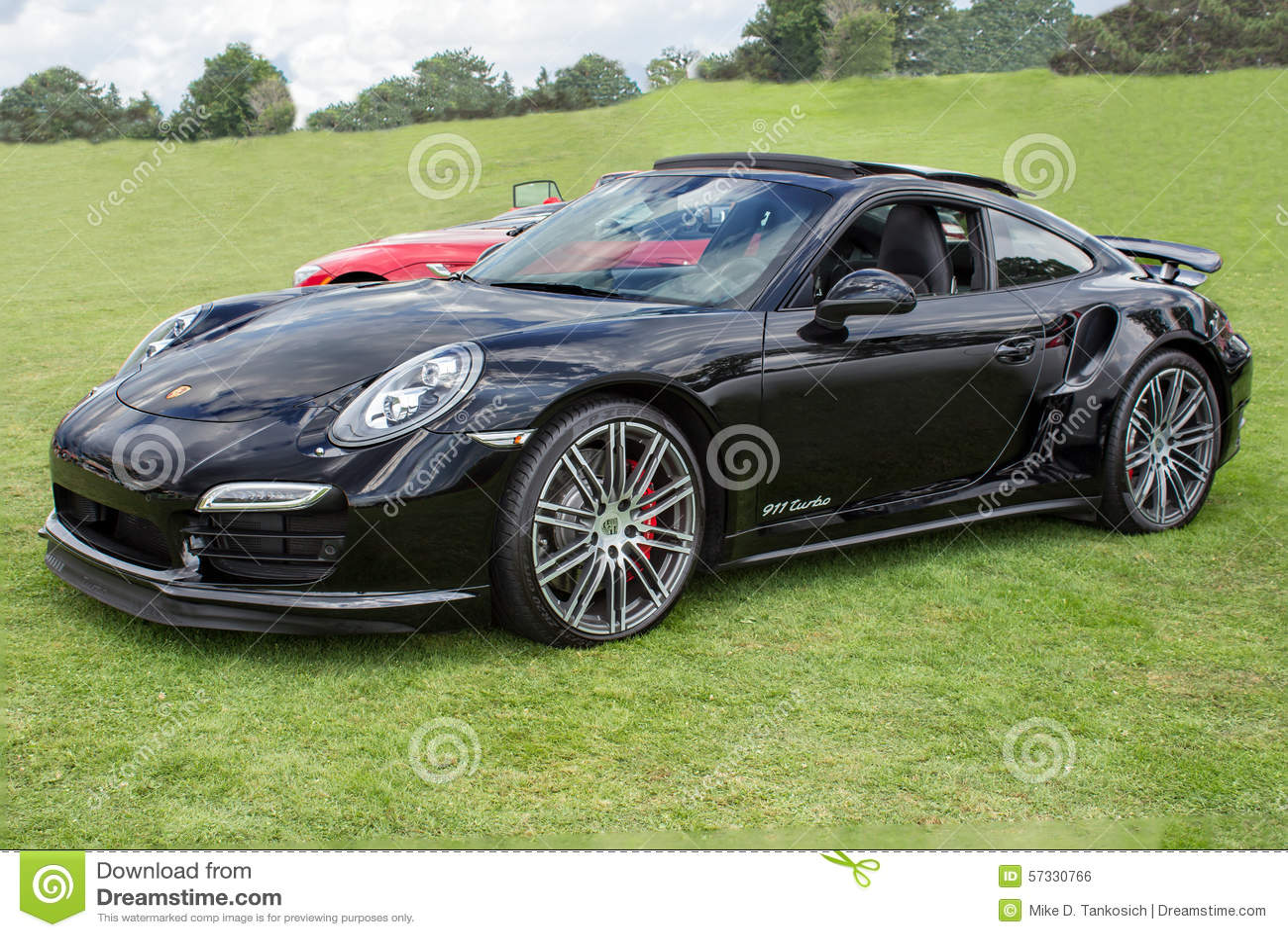 porsche 911 turbo black. editorial stock photo download black porsche 911 turbo