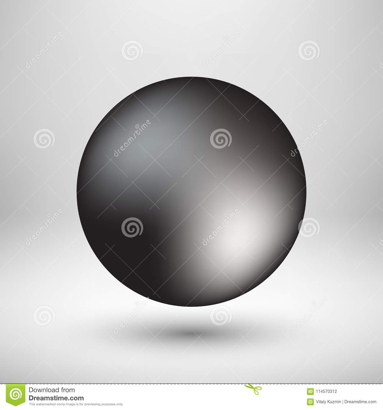 Black Bubble Icon Badge With Light Background Stock Vector ...
