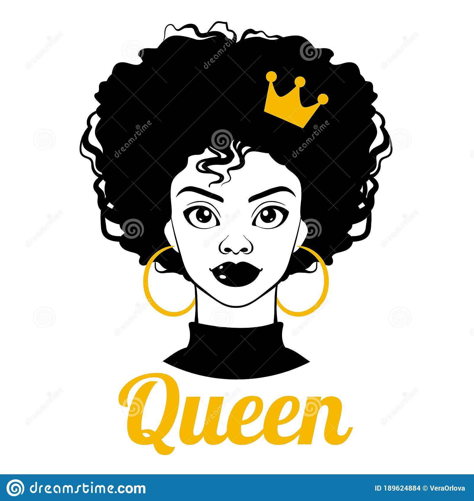 With clipart girl black afro Divas African