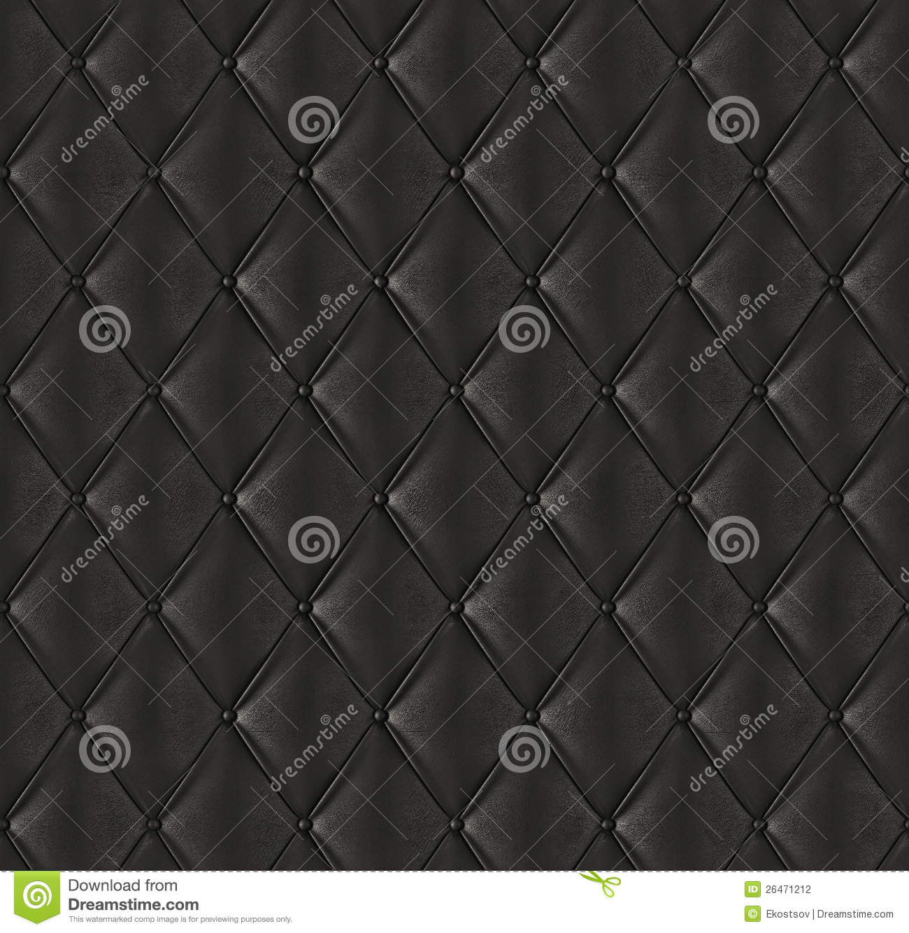 Black quilted leather stock illustration. Illustration of textured ... : black quilted leather - Adamdwight.com