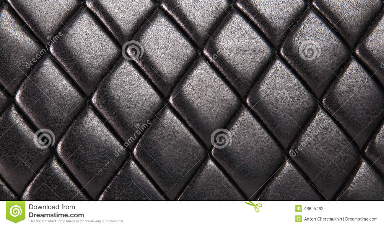 Black Quilted Wallpaper Black Quilted Leather ...