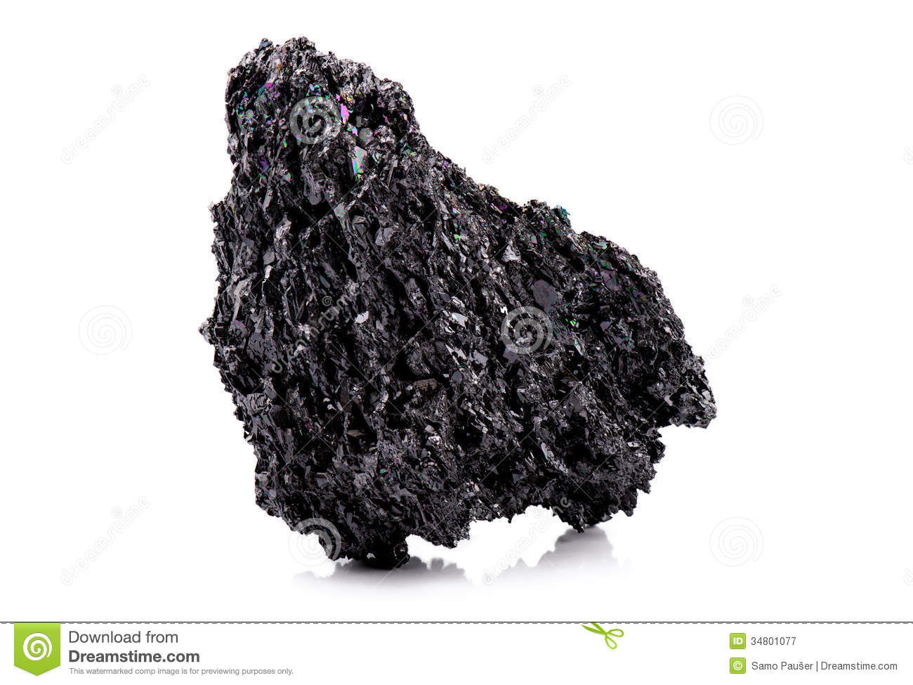 Black Rainbow Rock Royalty Free Stock Photography Image
