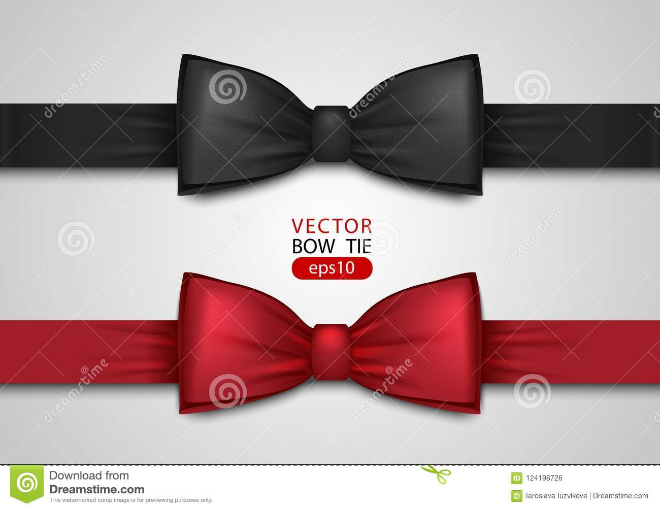 Black And Red Bow Tie 050c609b7