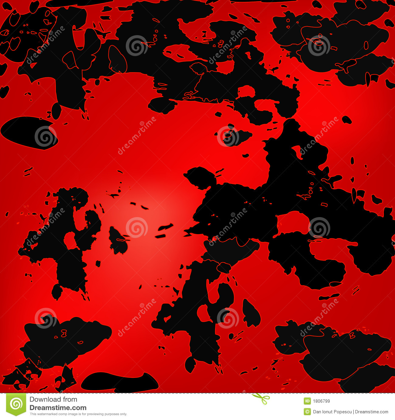 Black And Red Grunge Design Royalty Free Stock Images