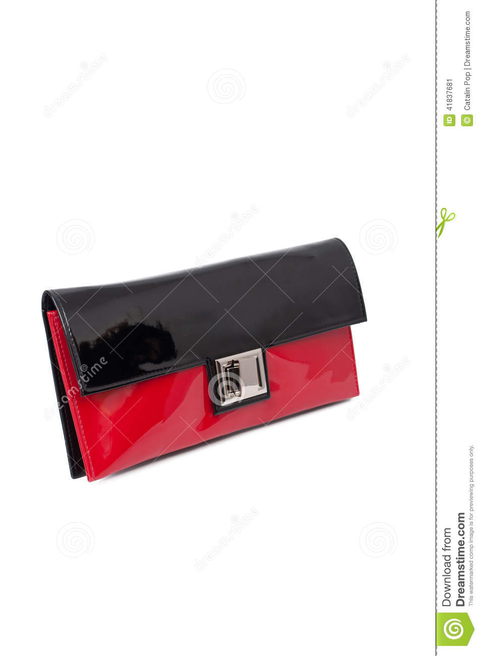 where can i buy a prada bag - Black And Red Purse Stock Photo - Image: 41837681