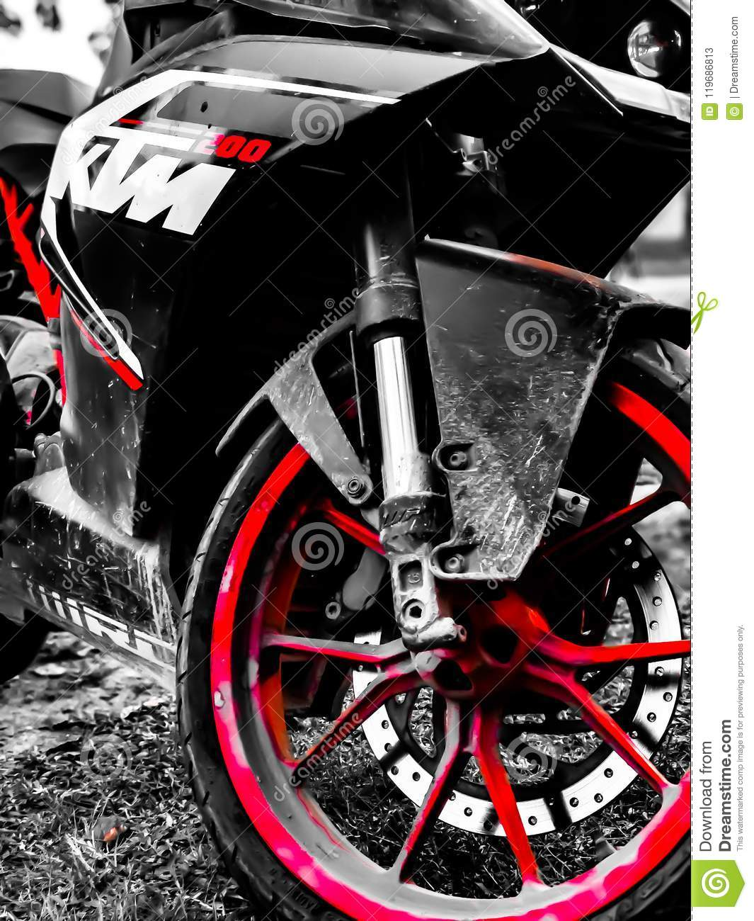 Black And Red And White Editorial Stock Photo Image Of White 119686813