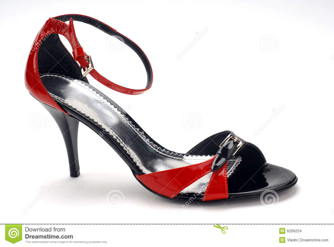 Red Shoes Black Narcissus