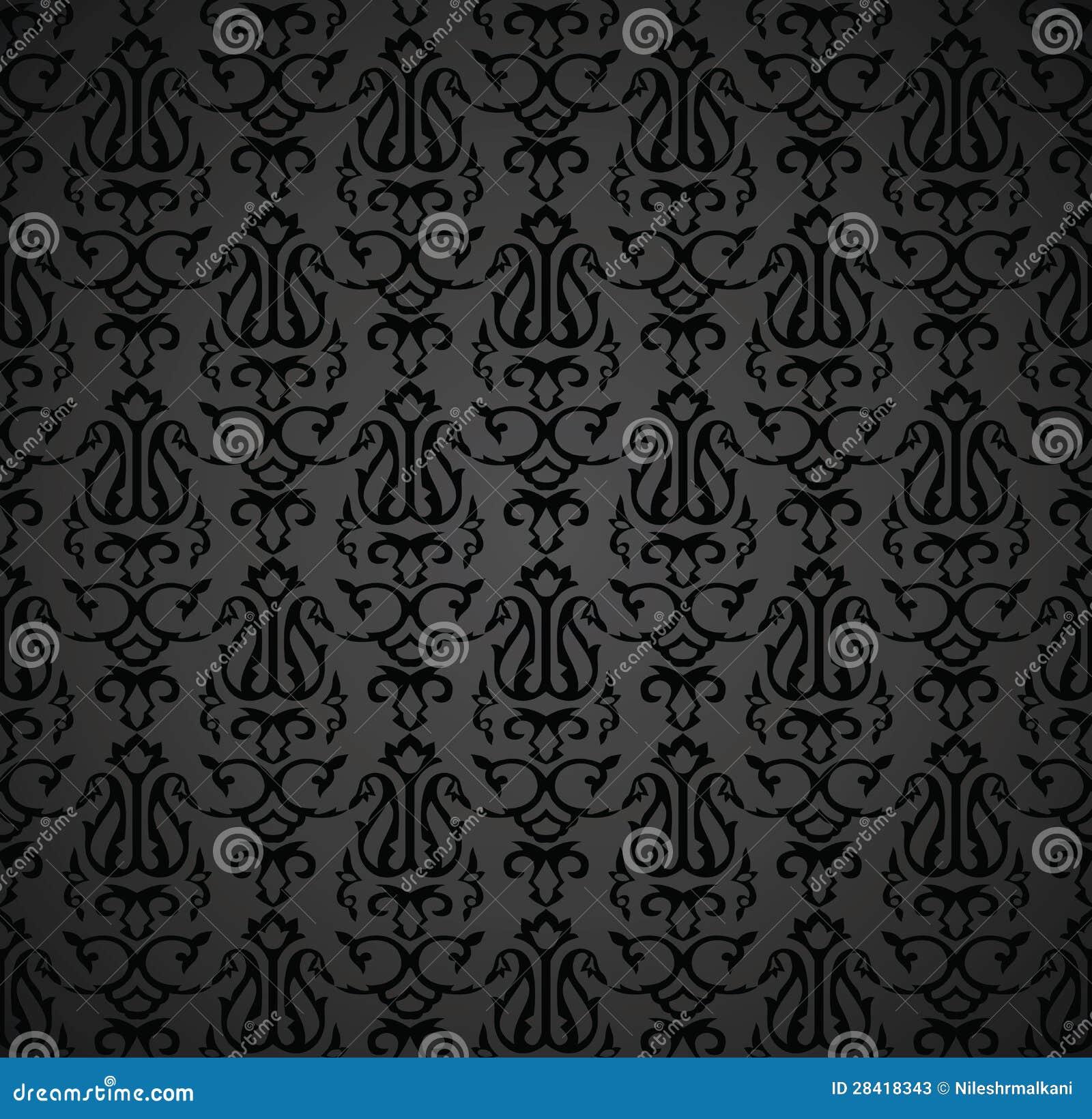 Black Book Cover Design : Black royal note book cover design stock vector image
