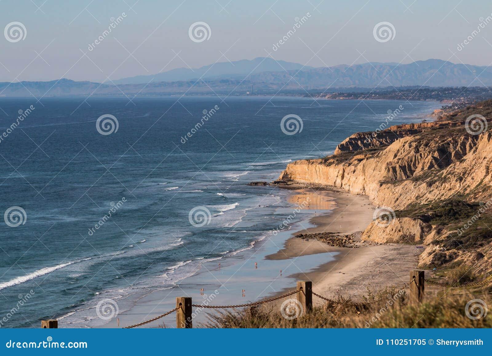 Black`s Beach In San Diego, California Stock Image - Image