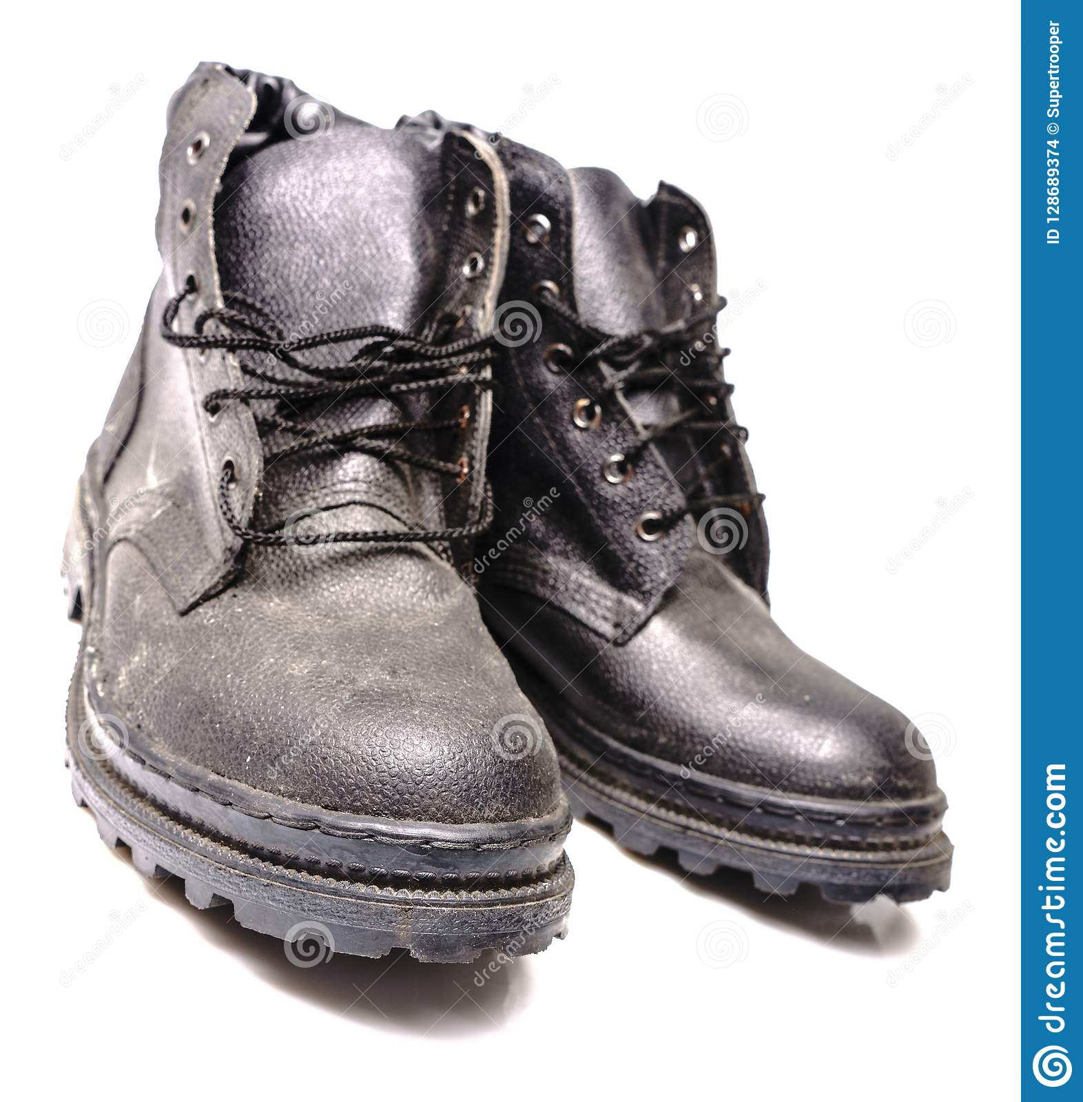 3892dc781db Protection Worker Shoes stock photo. Image of care, hazardous ...