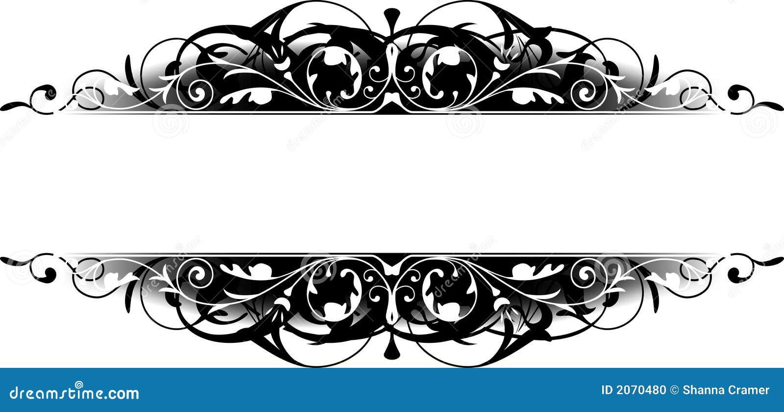 Scroll Border Clip Art scroll stock illustrations, vectors, & clipart ...