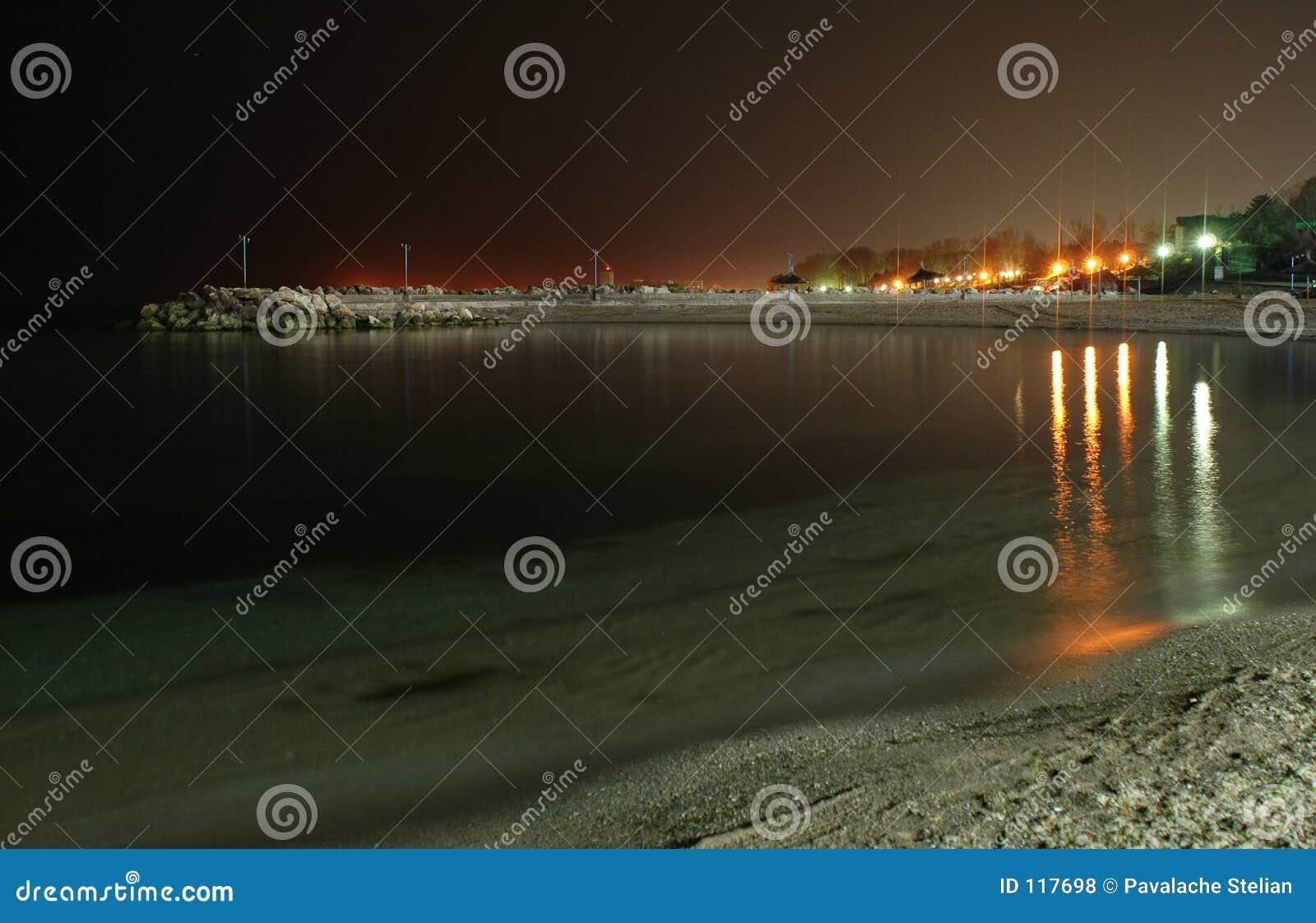 Black Sea on Night