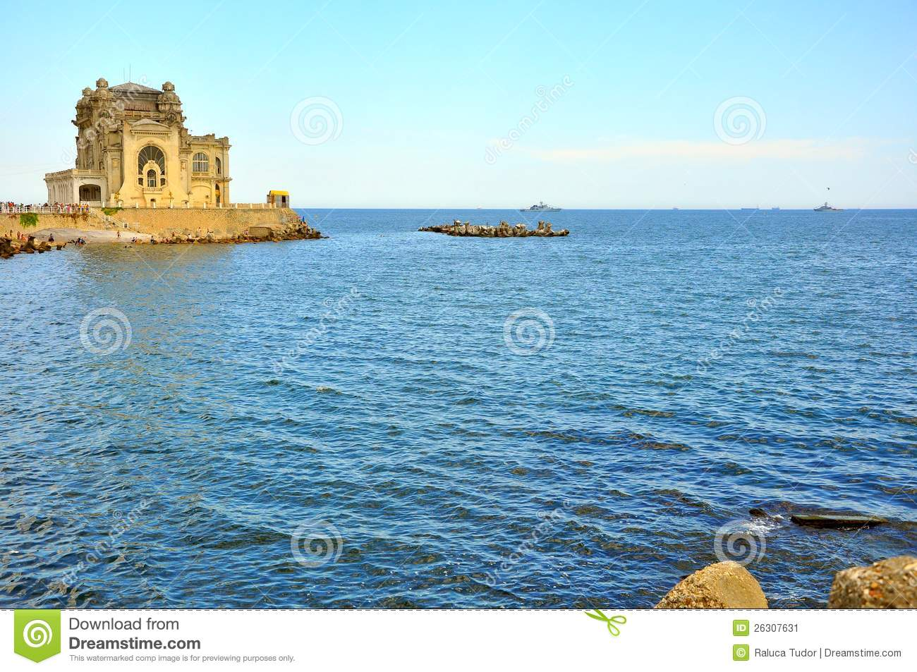 The Black Sea Romania Stock Image Image 26307631
