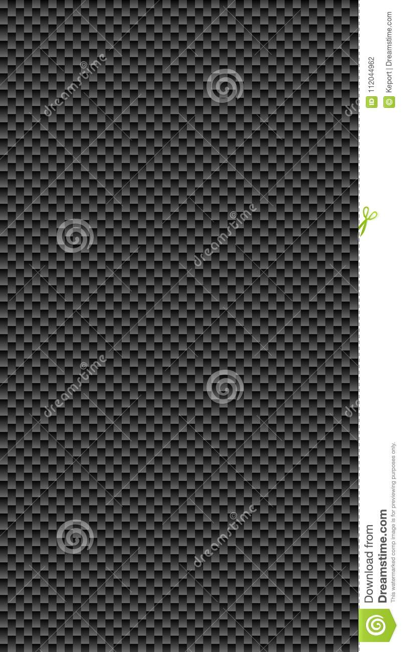 Dark Seamless Scales Texture Stock Illustration
