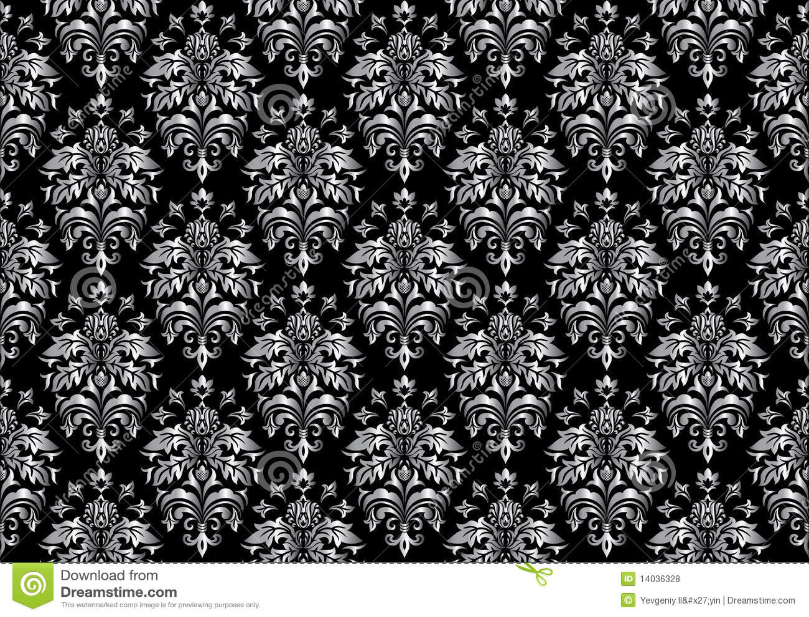 Carta Da Parati Texture black seamless wallpaper stock vector. illustration of