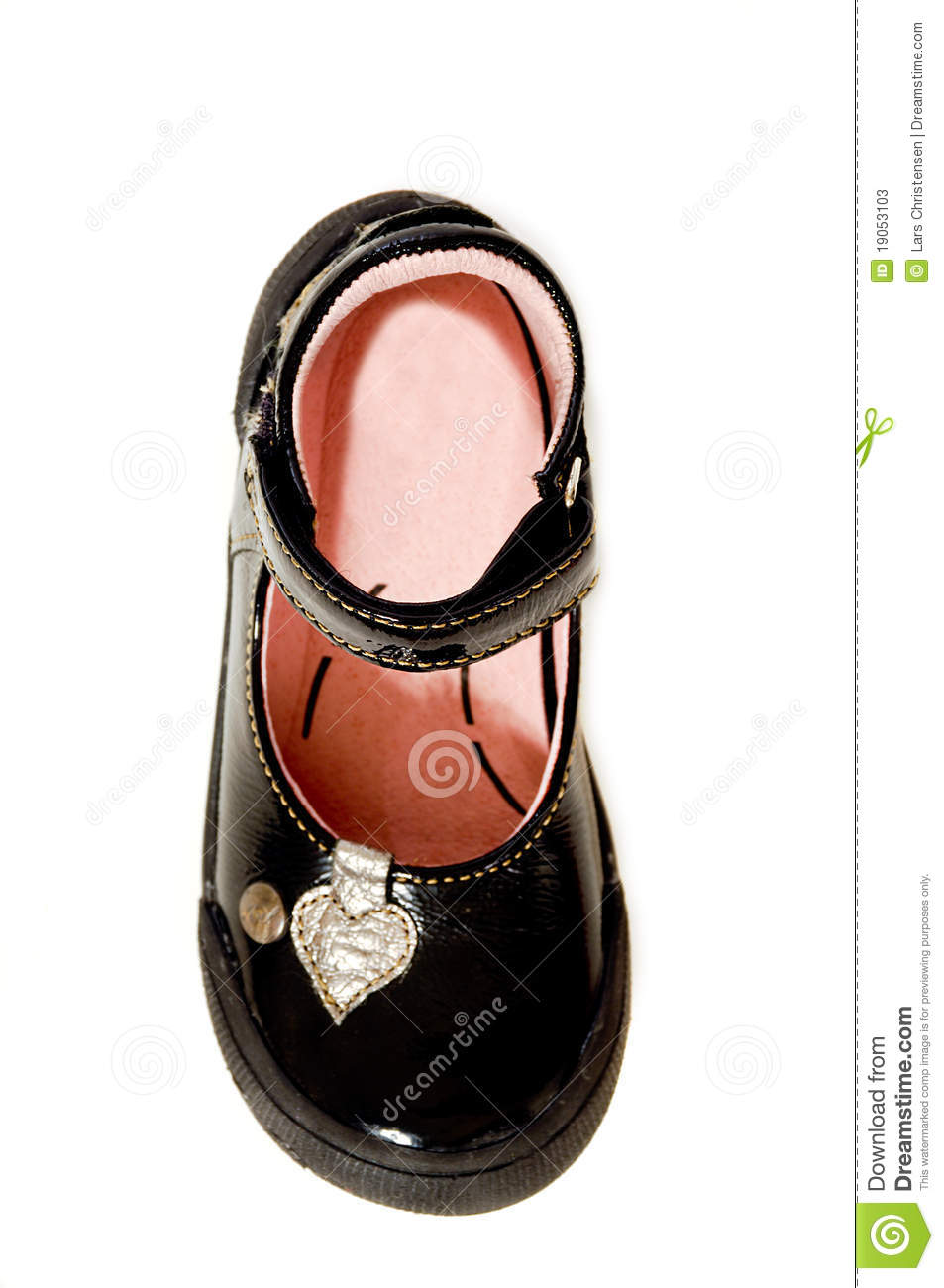 Black Shoe Stock Photos Image 19053103