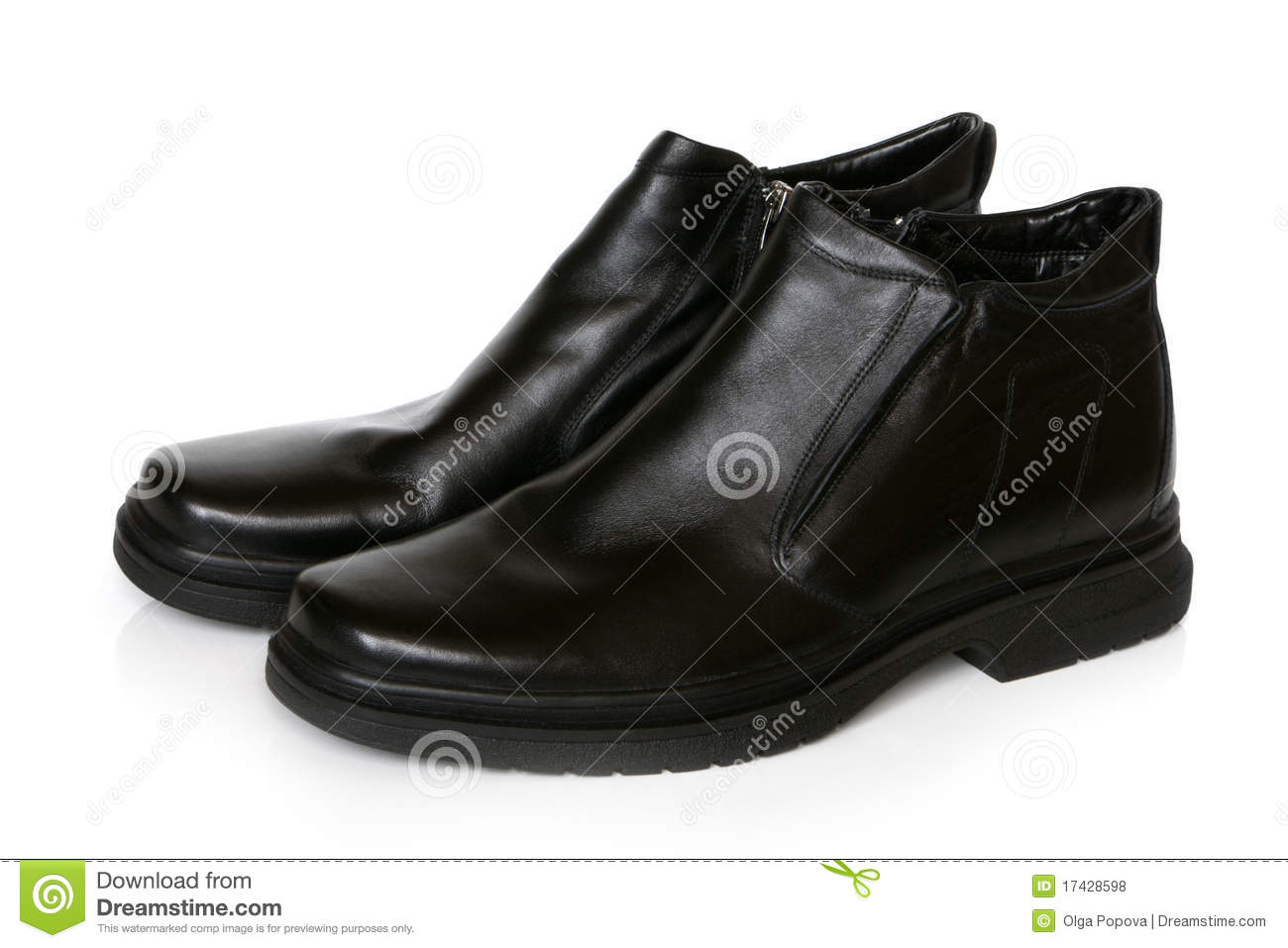 Royalty Free Stock Photos: Black shoes
