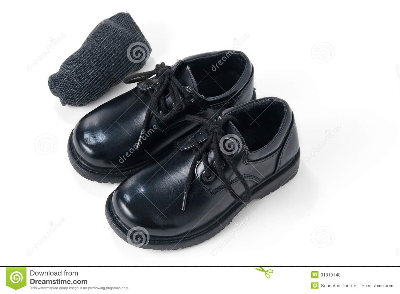 ... Shoes With Grey Socks Royalty Free Stock Photos - Image: 31819148