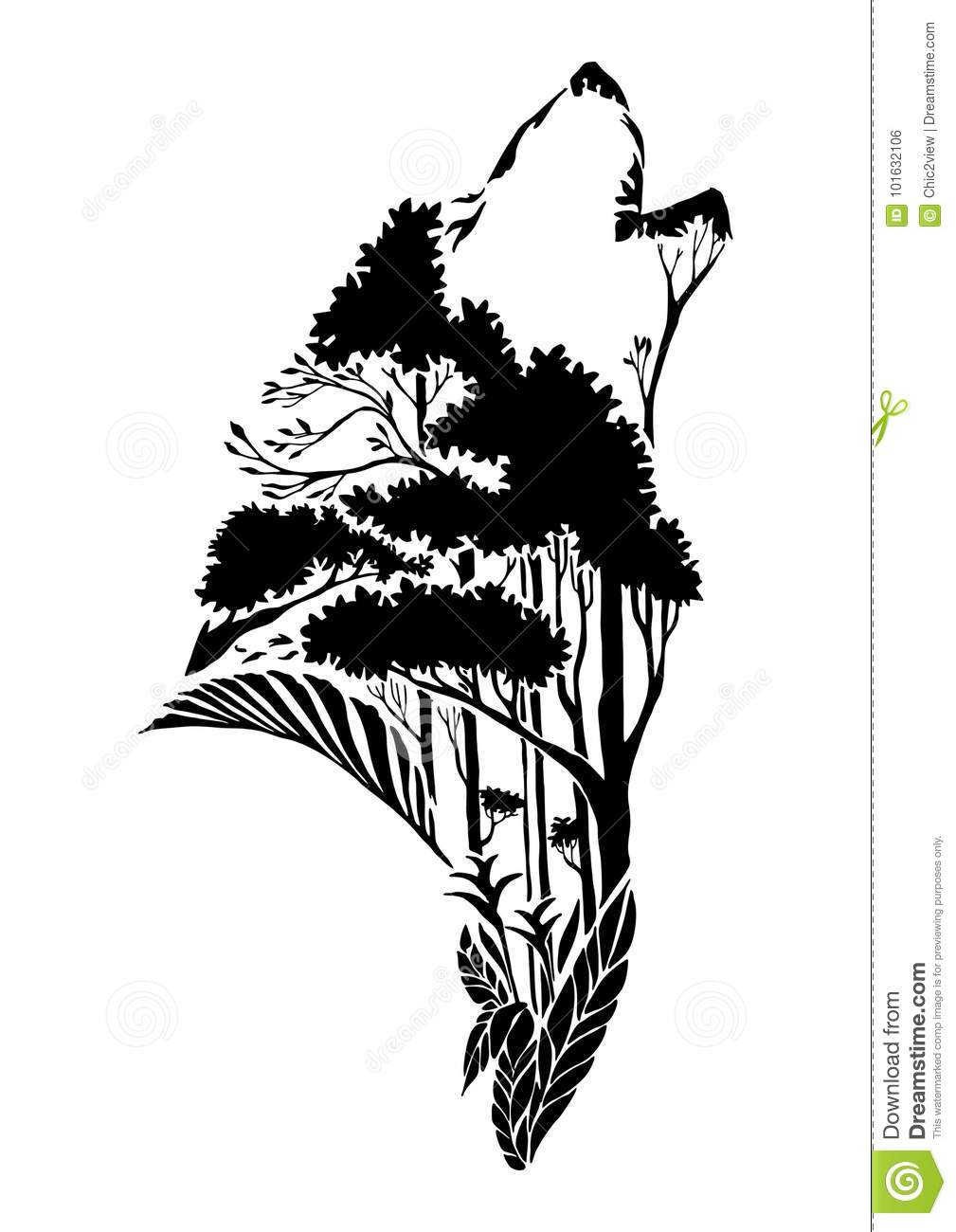 43c83f91a7084 Wolf Tattoo Stock Illustrations – 3,875 Wolf Tattoo Stock Illustrations,  Vectors & Clipart - Dreamstime - Page 2