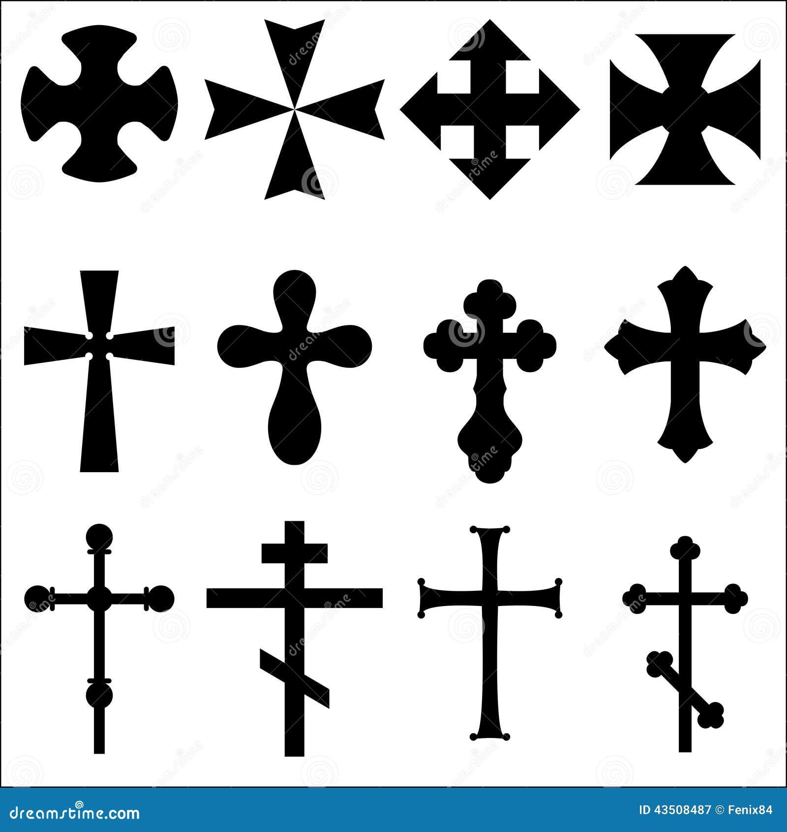 black silhouettes of crosses catholic  christian  celtic celtic cross clip art tattoo celtic cross clip art black and white