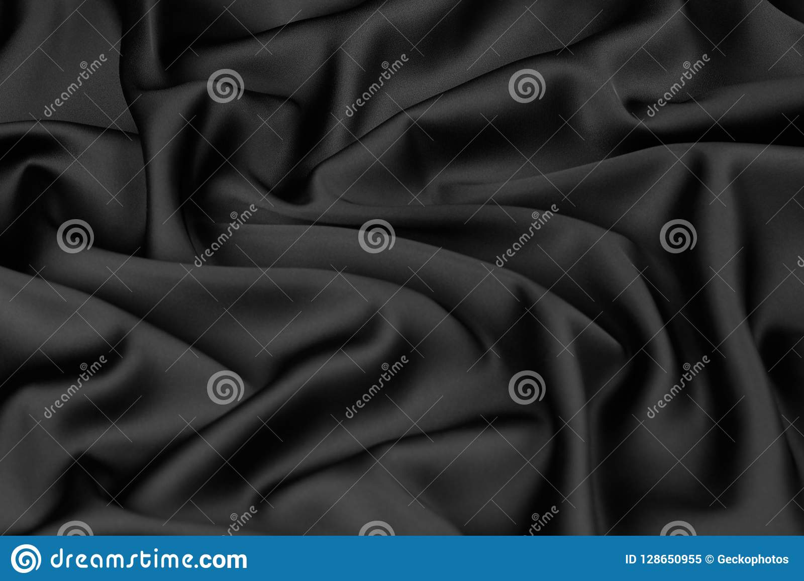 bedda661d2f7d7 Smooth elegant black silk or satin luxury cloth texture can use as abstract  background with copy space, close-up
