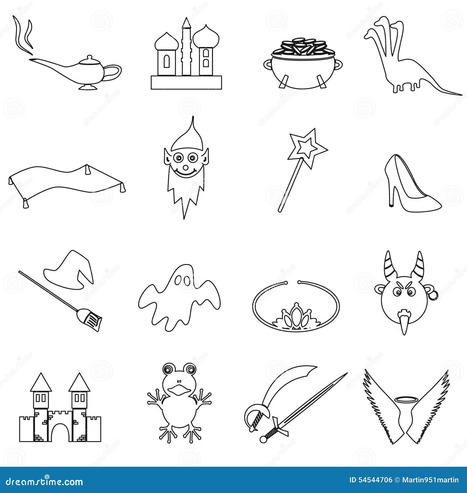 frog king outline illustration stock photography image 7274442