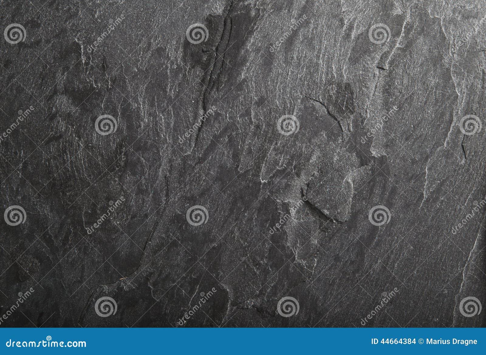 Black slate rock background texture