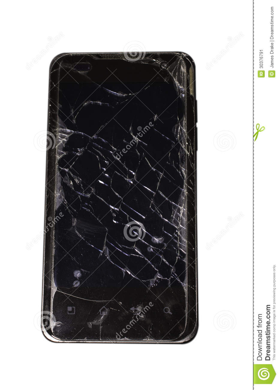 how to fix a cracked phone touch screen