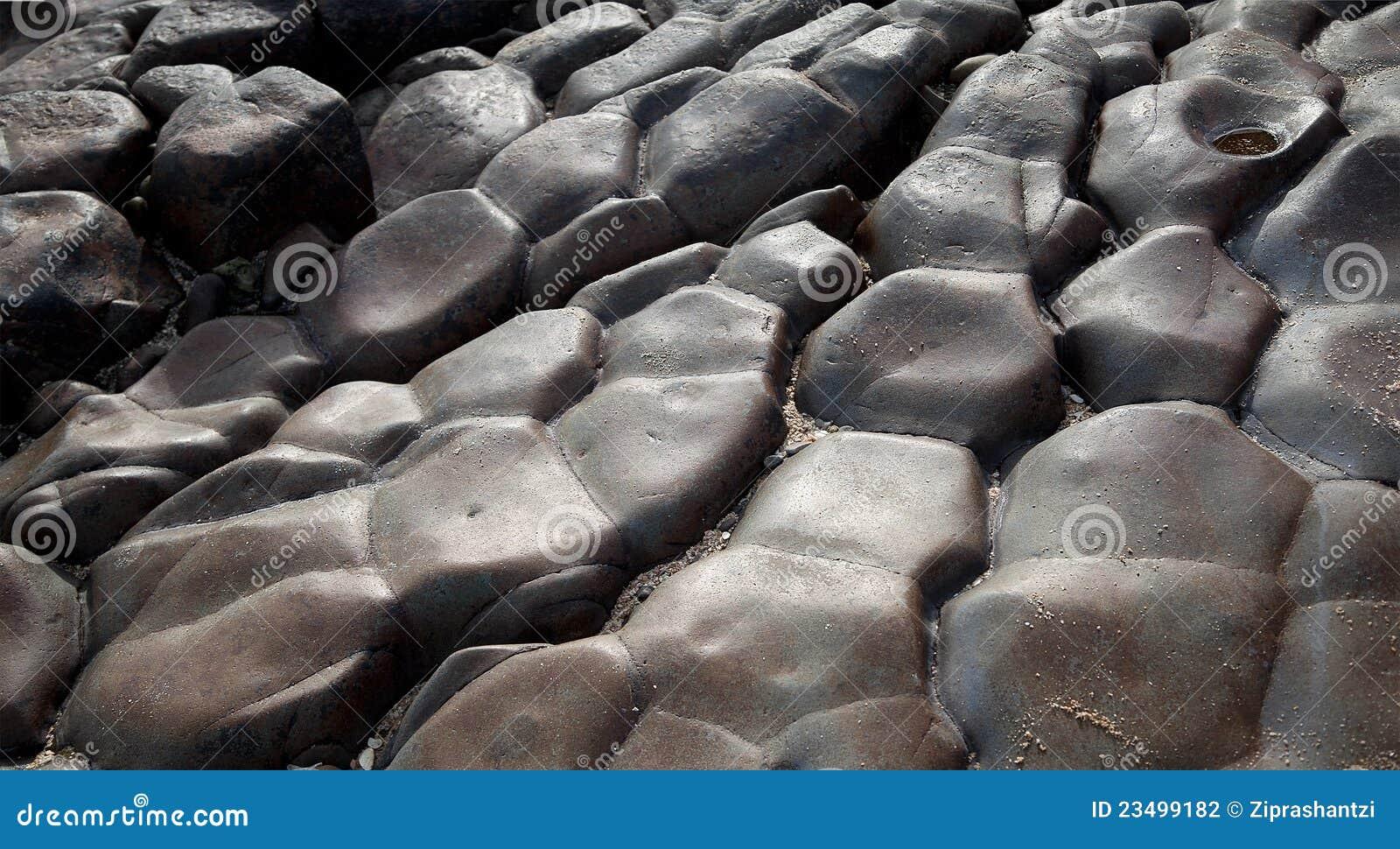 Black Smooth Stone Rocks Texture Stock Photo Image Of