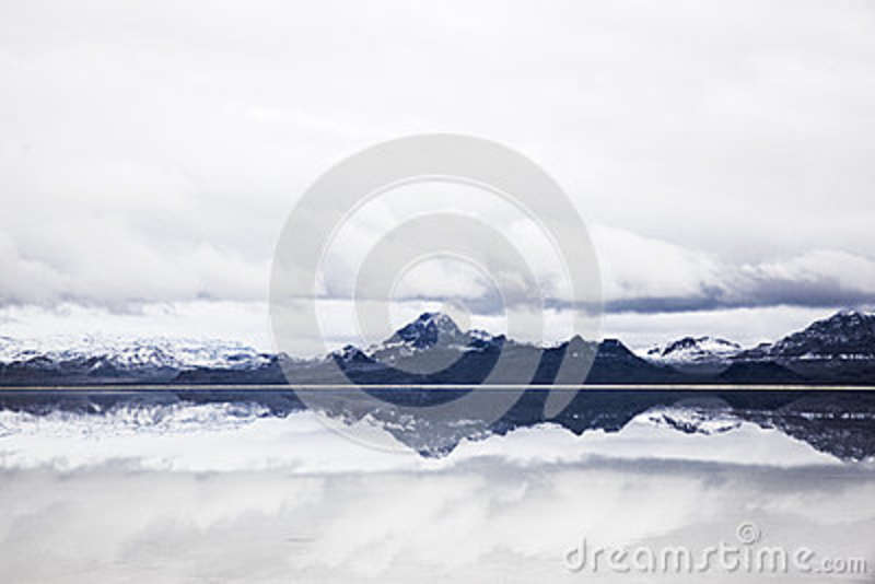 Download Black Snowy Mountain Near Body Of Water Under Blue Sky Stock Image - Image of lake, mountains: 83020053