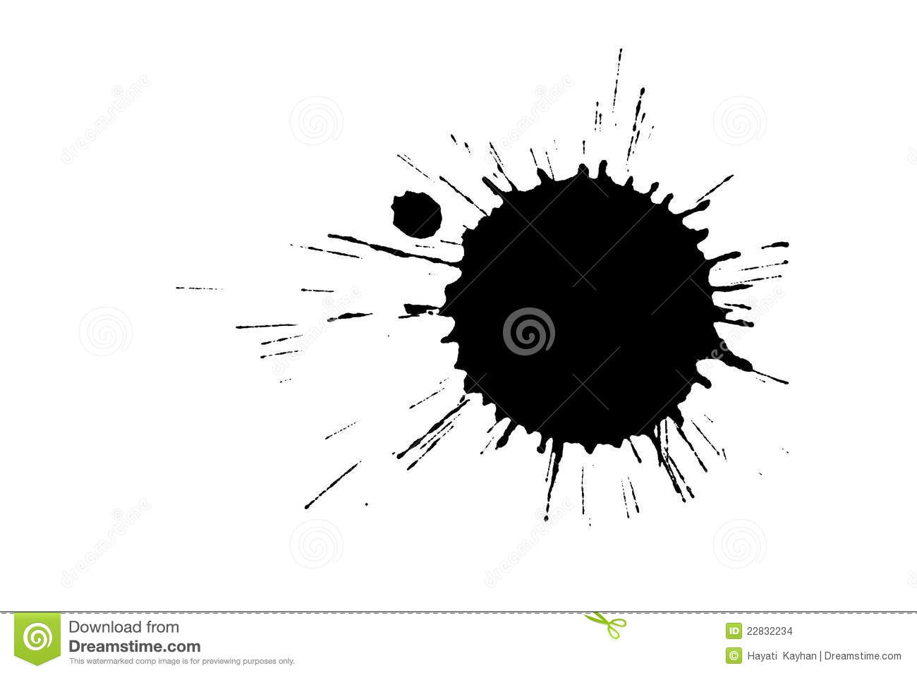Black Stain Stock Images - Image: 22832234