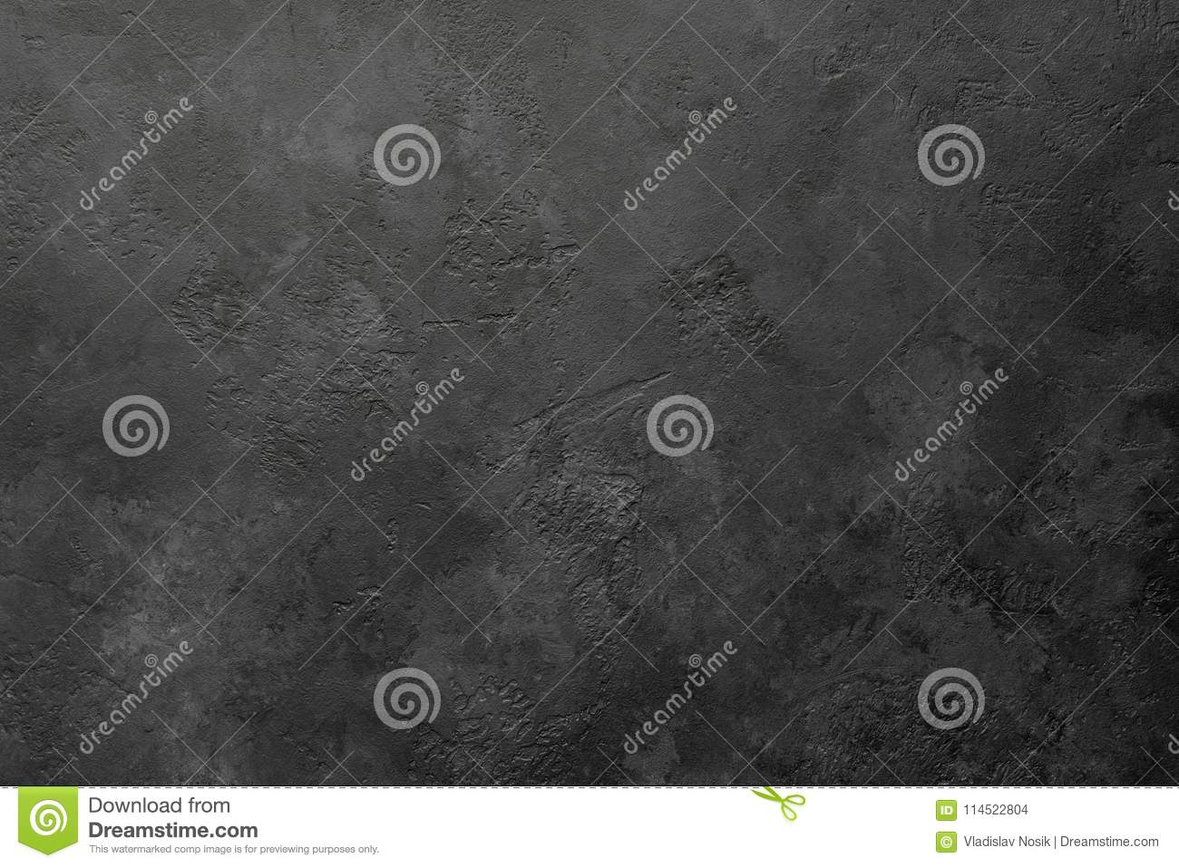 Black stone or slate background or texture