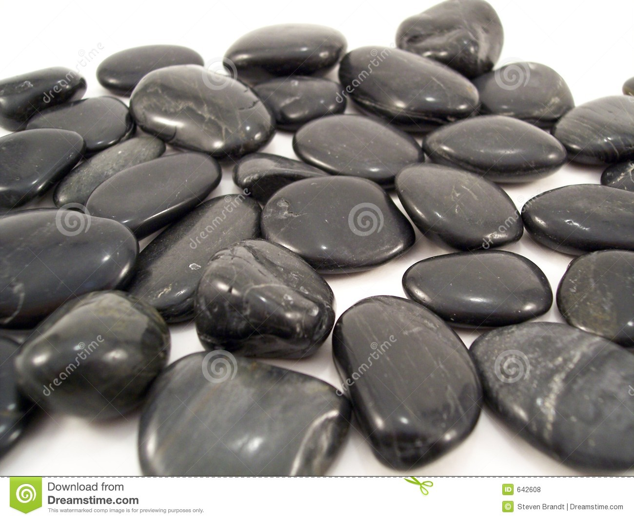 black stones on white stock photo image of geology rocks 642608. Black Bedroom Furniture Sets. Home Design Ideas