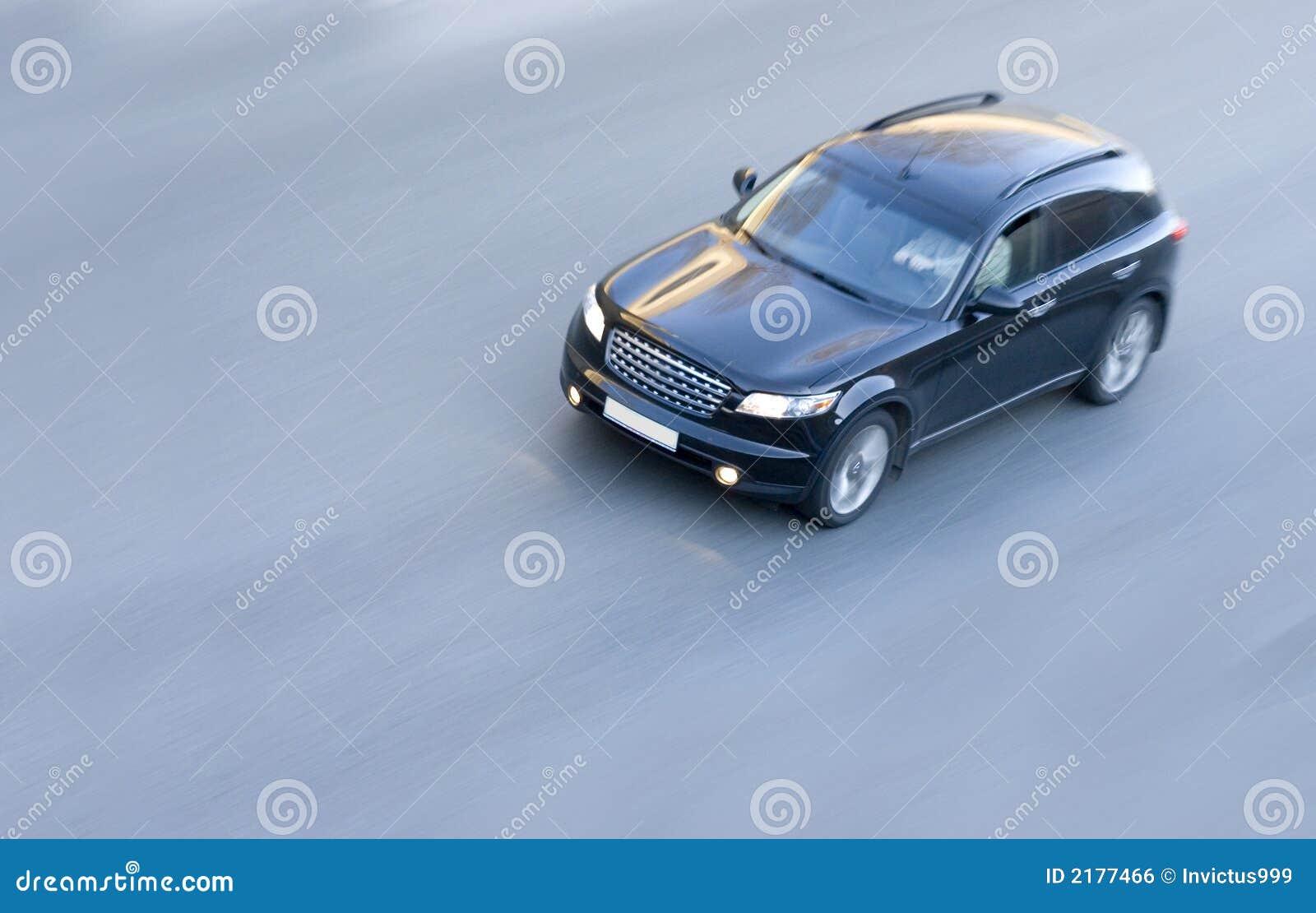 Black Luxury Vehicles: Black Suv Infinity Luxury Car Royalty Free Stock Image