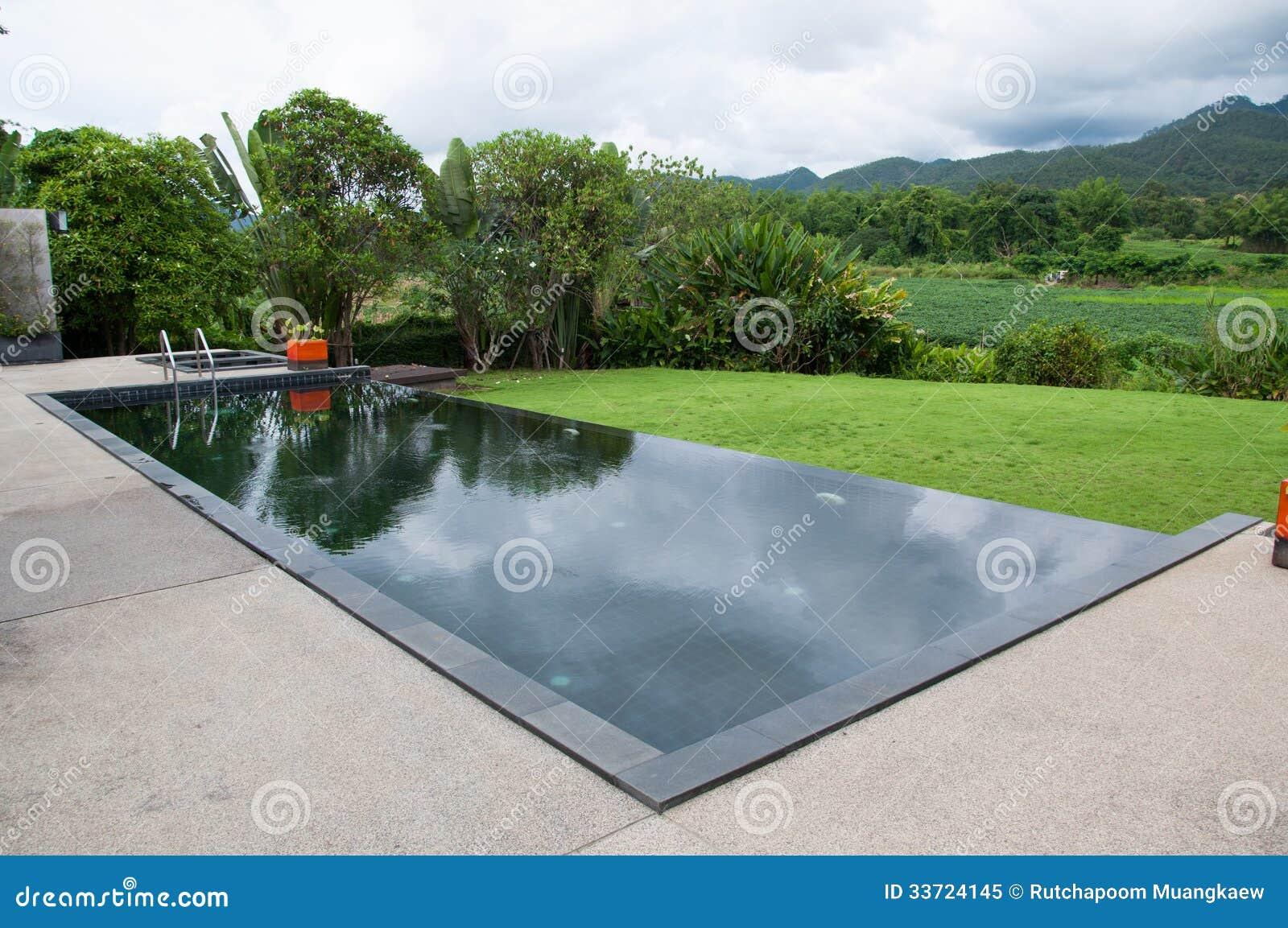 The Black Swimming Pool Royalty Free Stock Photo Image 33724145