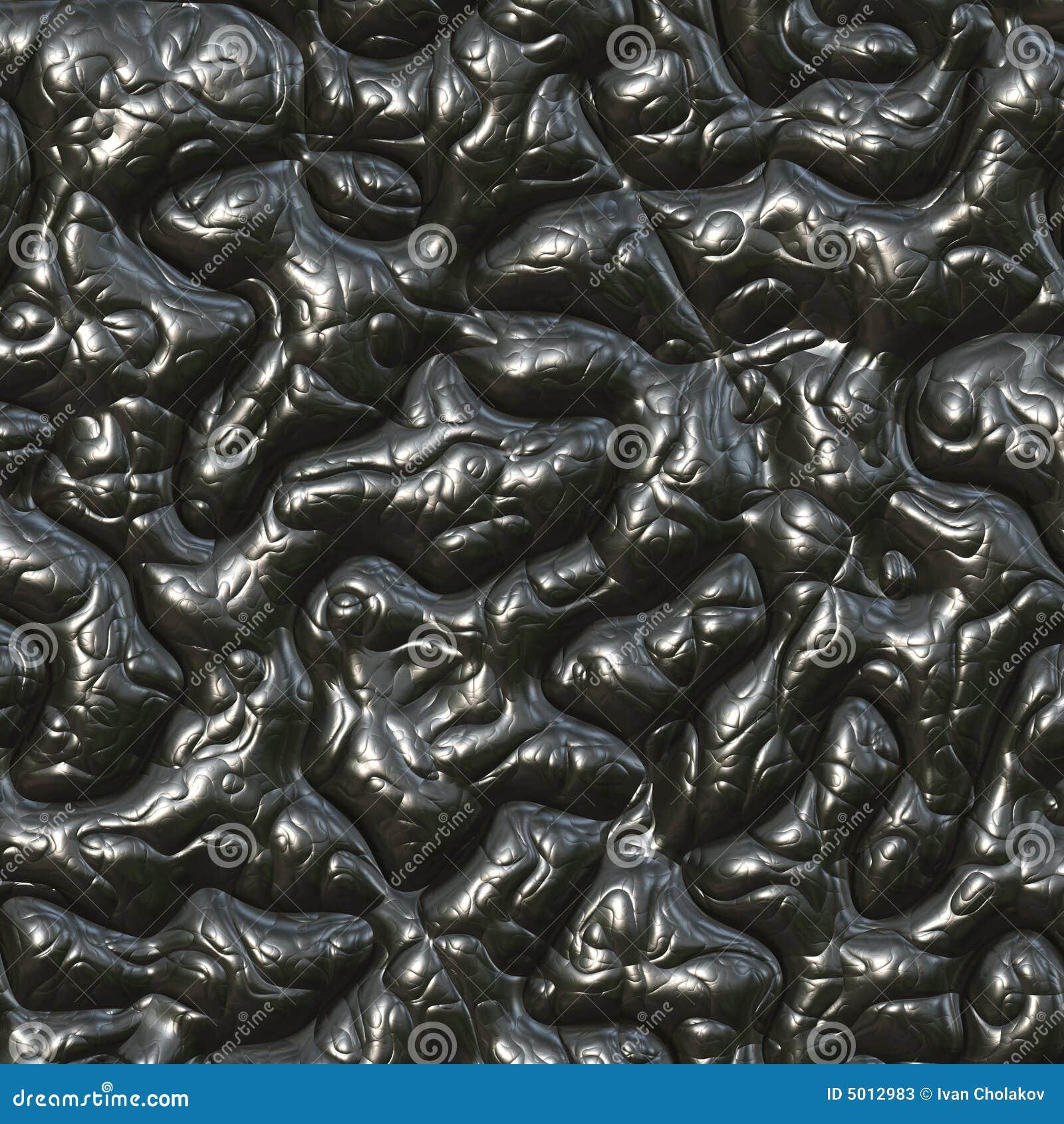 Melted black tar for b...