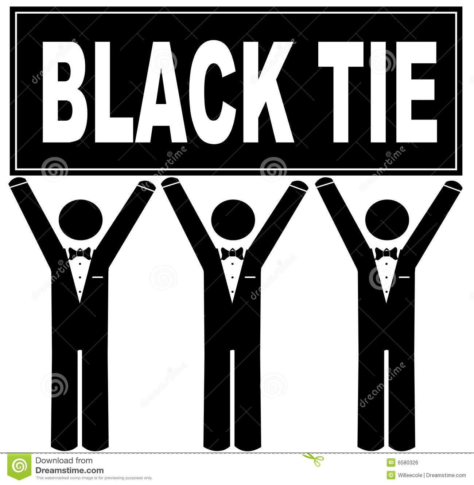 Black Tie Event Royalty Free Stock Image Image 6580326