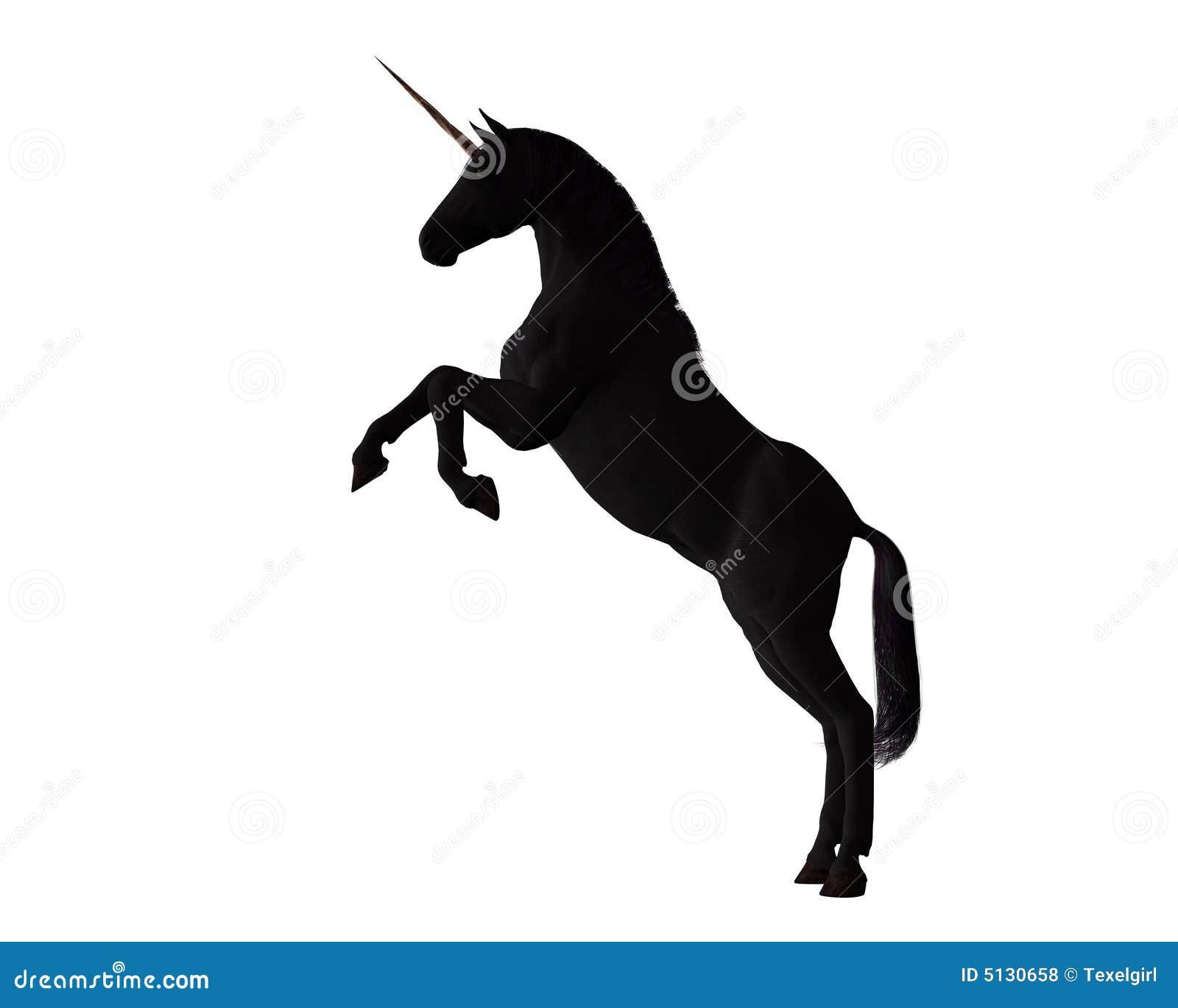 black unicorn royalty free stock photos image 5130658