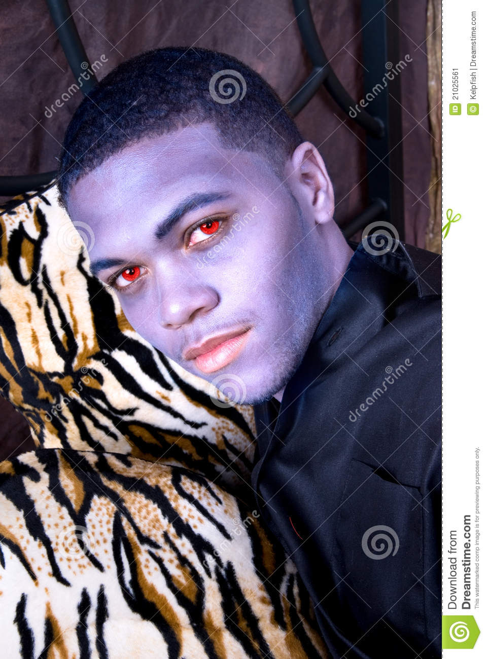 Black vampire stock image. Image of creepy, sensuality ...