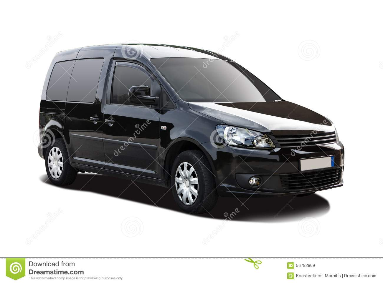 Black VW Caddy stock image. Image of auto, caddy, european - 56782809