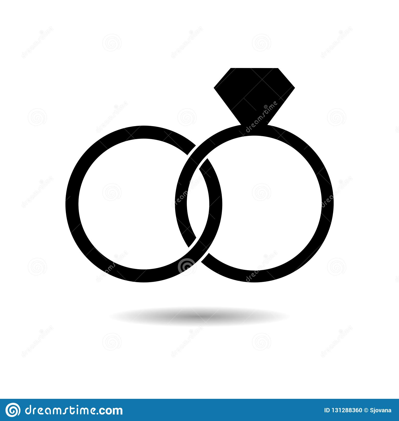black wedding ring with diamond simple icon or logo stock vector illustration of carat marry 131288360 https www dreamstime com black wedding ring diamond simple icon logo white black wedding ring diamond simple icon logo image131288360