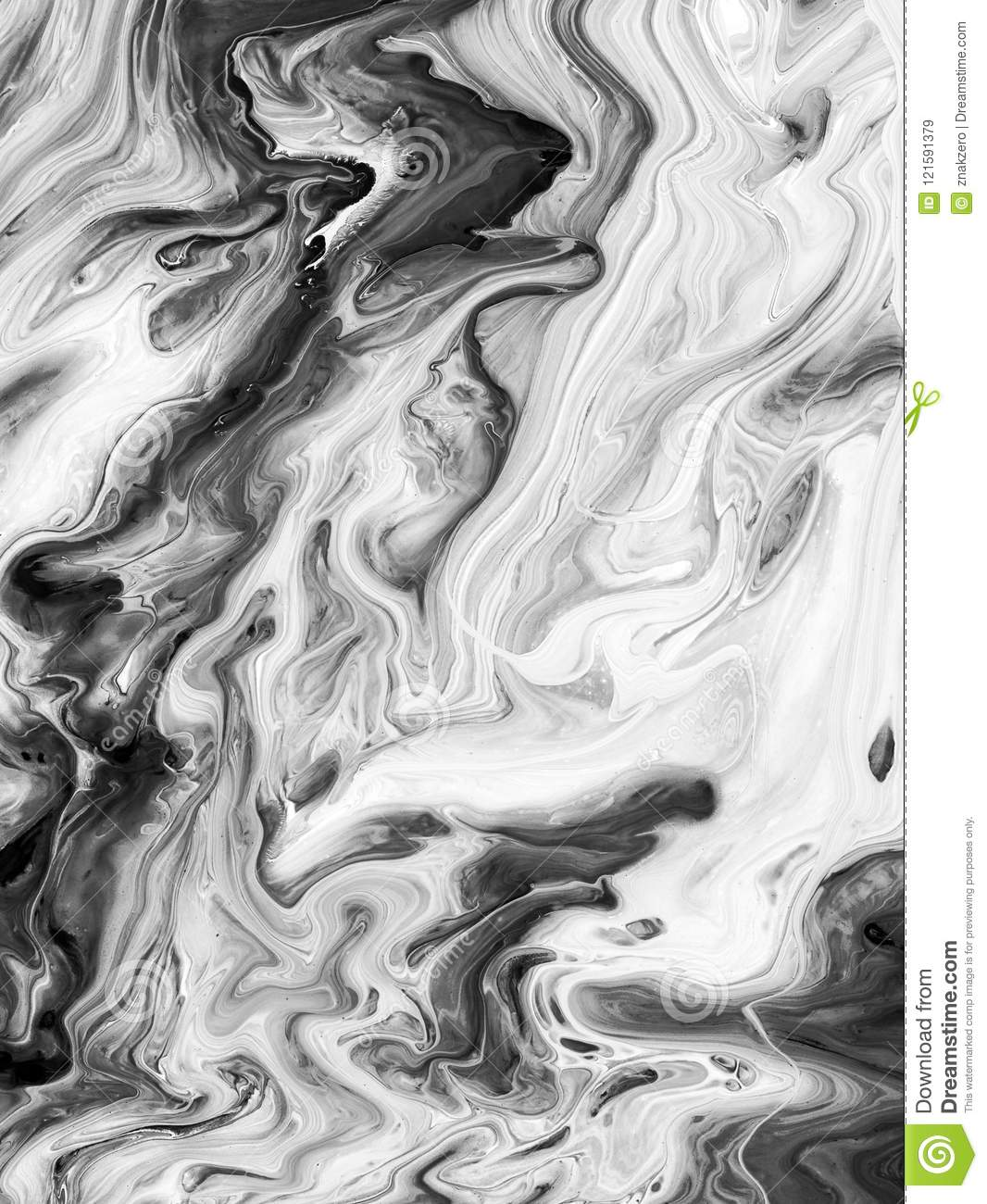 Black And White Abstract Painted Background Wallpaper