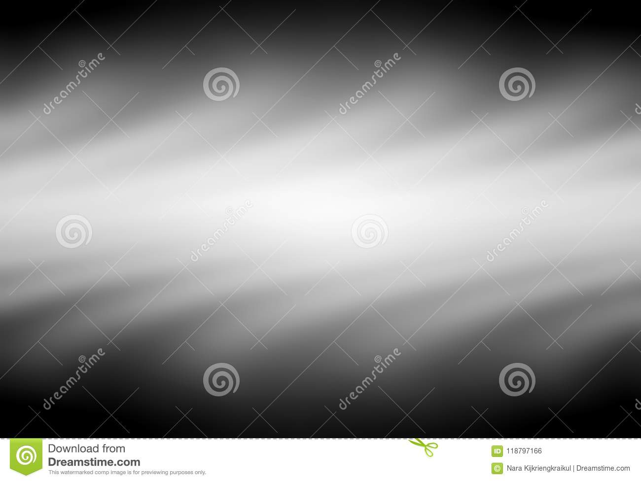 Black And White Blurred Gradient Background Stock